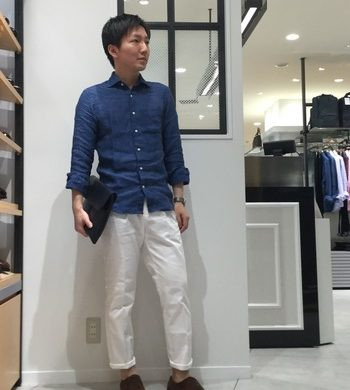 毎年人気のリネンシャツが今年も登場★