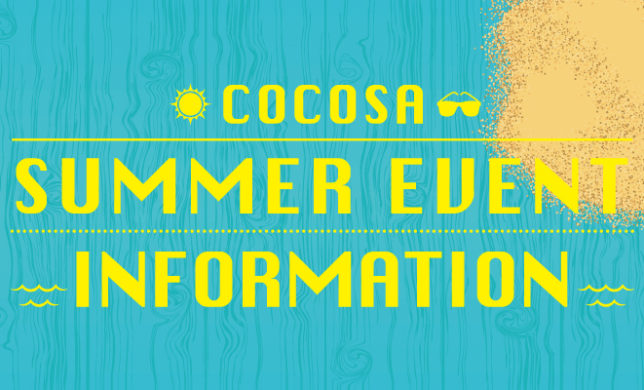 COCOSA Summer event