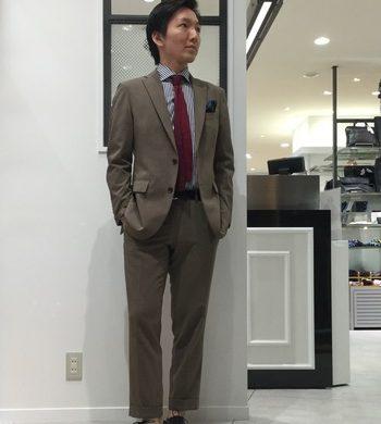 GEOX別注★ストレートチップシューズ