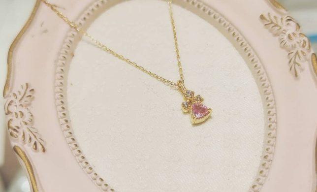 🎁 ピンクサファイア ネックレス 🎁