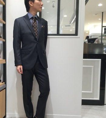 メンズ新作★CANONICOのスーツ