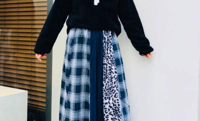 欲張りなマルチパターン スカート!