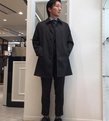 メンズ新作★季節の変わり目にオススメのコート