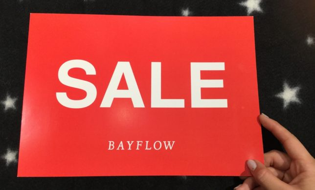 ★BAYFLOW WINTER SALE★