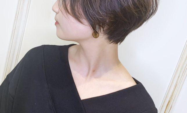 リップラインのショートヘア人気急増!! 2F美容室モリオフロムロンドン