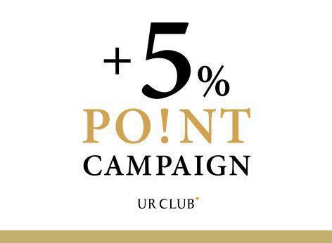 +5%ポイントアップキャンペーン開催のお知らせ