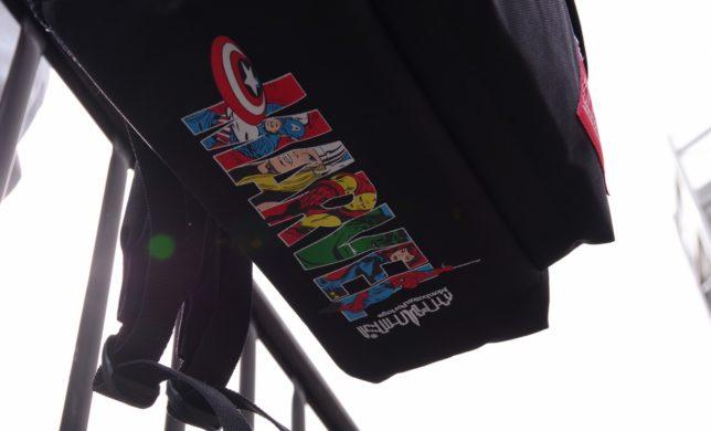 バックパック×アメリカが誇るコミック「MARVEL(マーベル)」