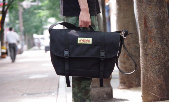 大容量+間口の広い開閉口 防水型メッセンジャーバッグ