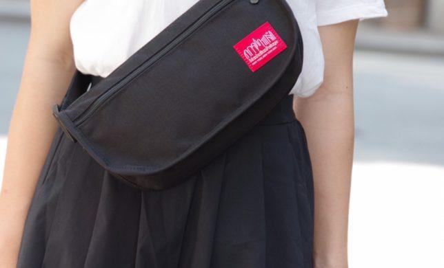 新型ウエストバッグ