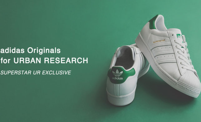 adidas Originals for URBAN RESEARCH SUPERSTAR UR EXCLUSIVE