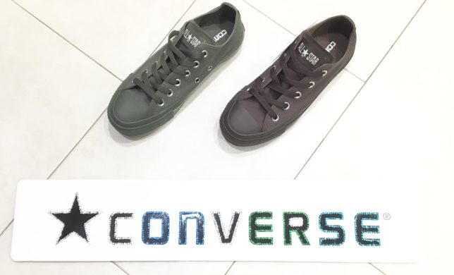 CONVERSE 秋冬の新作🍁 ALL STAR モノカラーズ