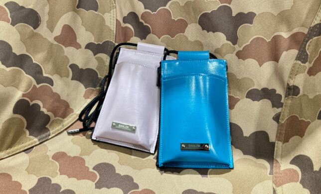 【SANLDK/LEATHER EASY POUCH】