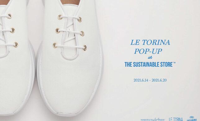 【LE TORINA POP-UP START!!!】