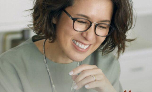mi-molletコラボ眼鏡★マルチポーチ付き