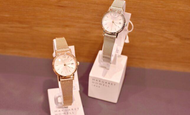 【MARGARET HOWELL idea】小ぶりで華奢な腕時計